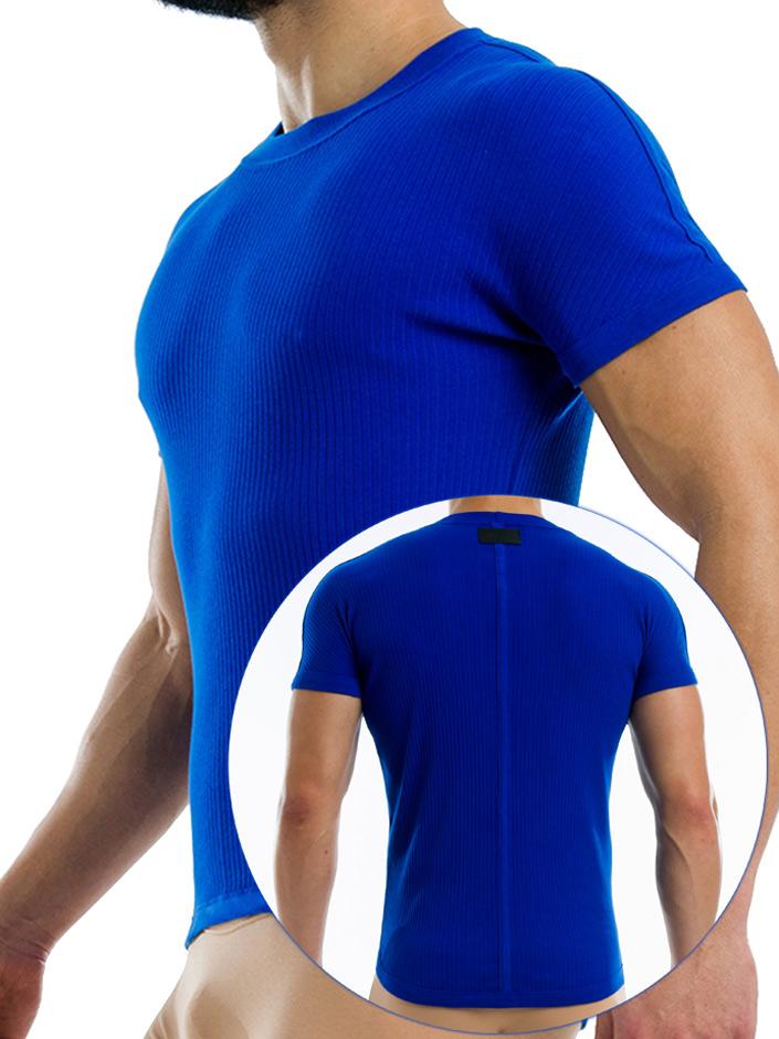 Modus Vivendi - Broaded T-Shirt - Blau