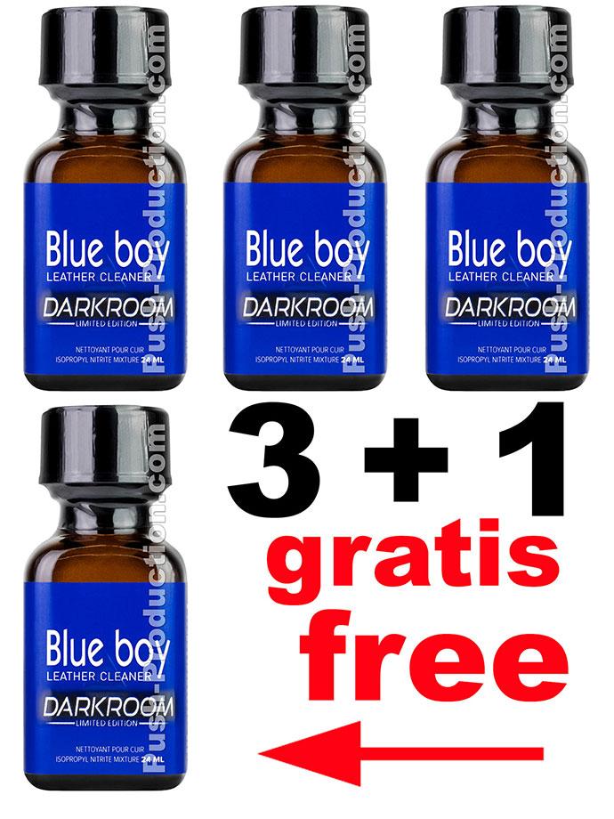 3 + 1 BLUE BOY DARKROOM big