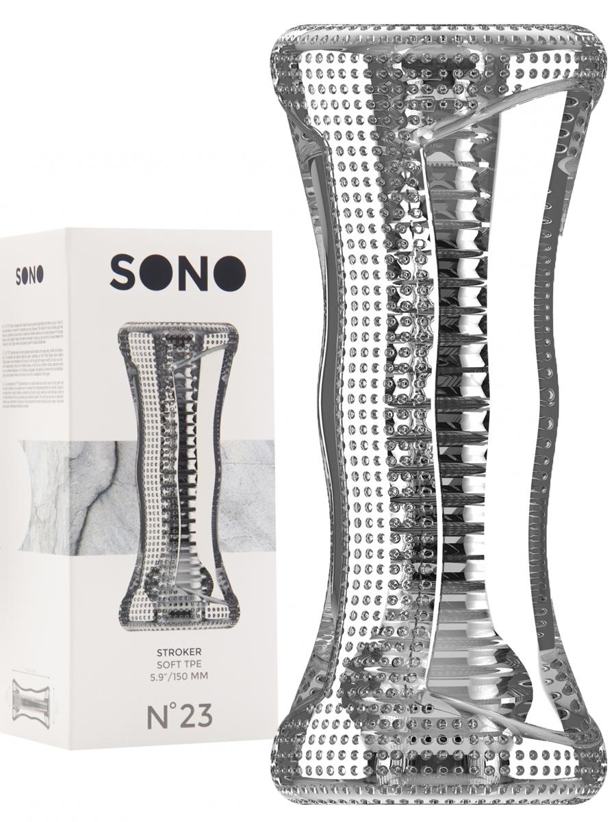 Stroker Soft TPE transparent - SONO No.23
