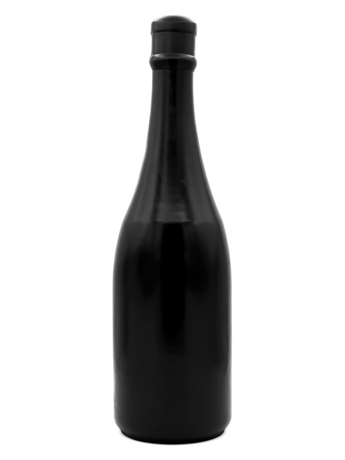 All Black Dildo 91 - Champagner Flasche Magnum