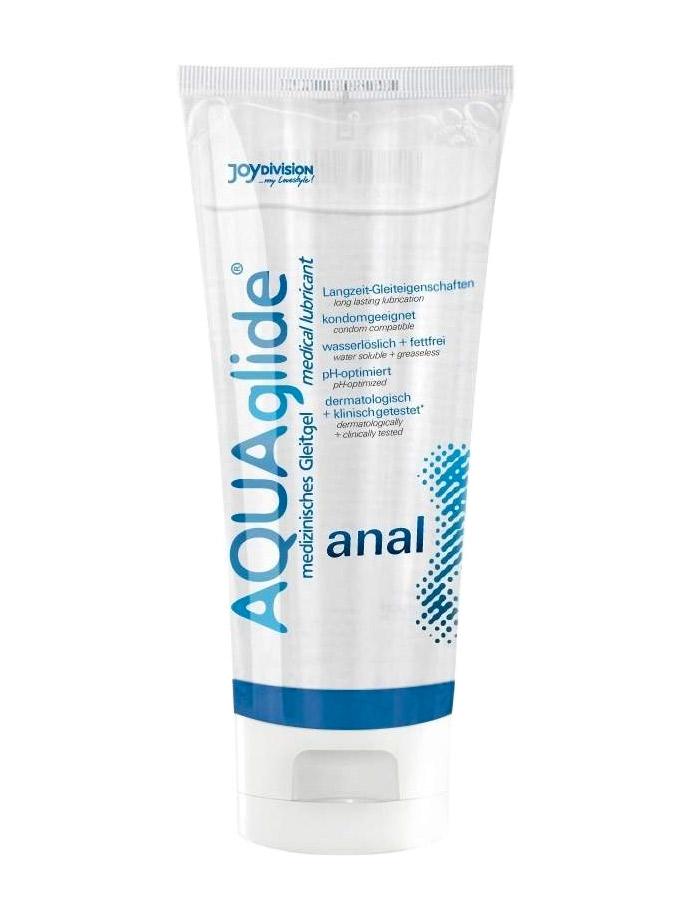 AQUAglide Anal - Medizinisches Gleitgel 100 ml