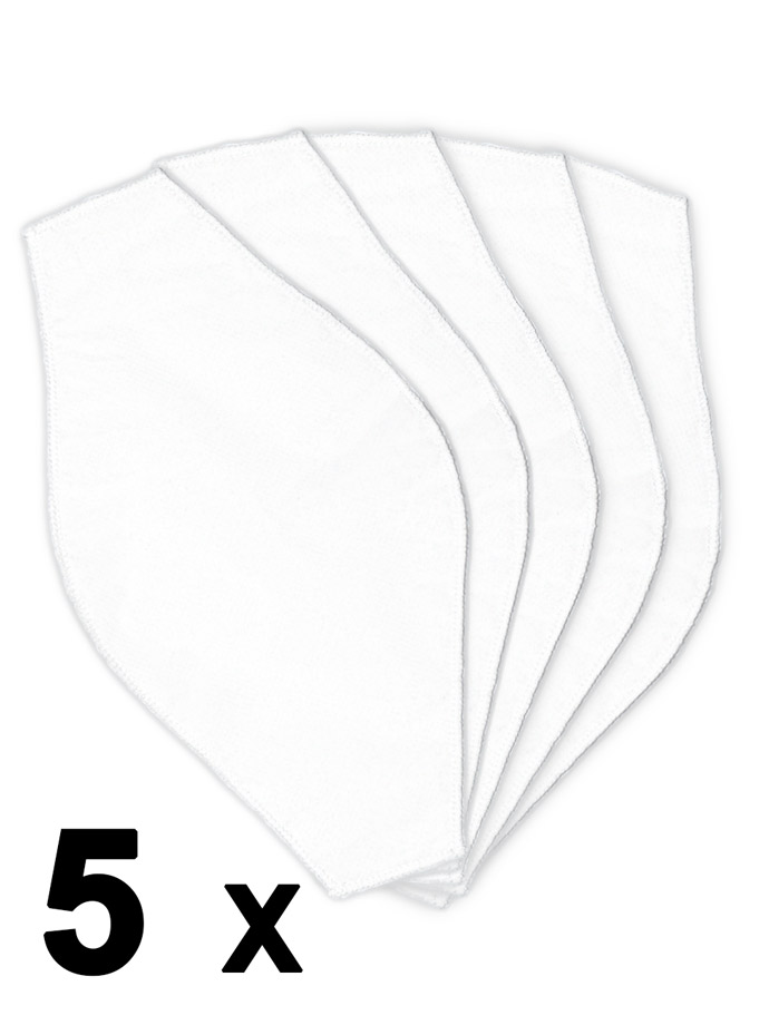 Barcode Berlin - 5 Stück D12 Filter für Maske