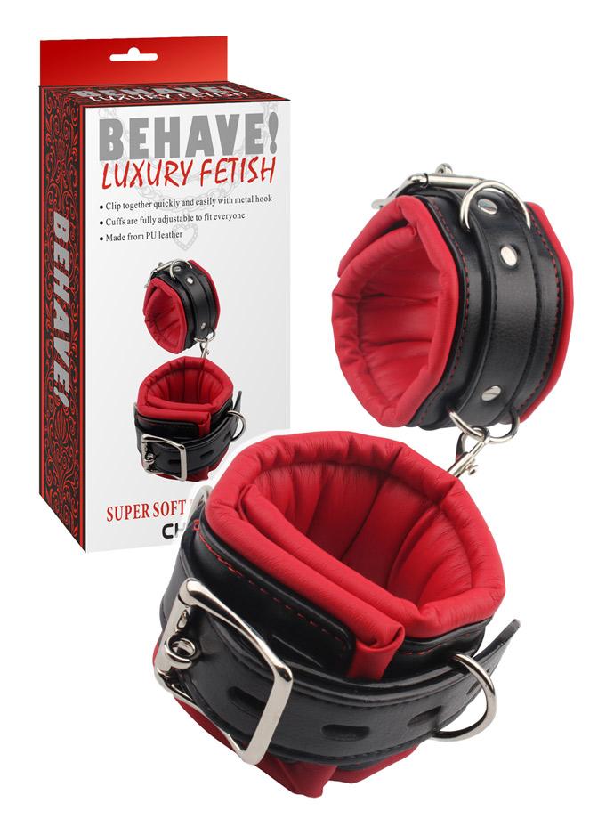 Behave! Luxury Fetish - Super weiche Handfesseln