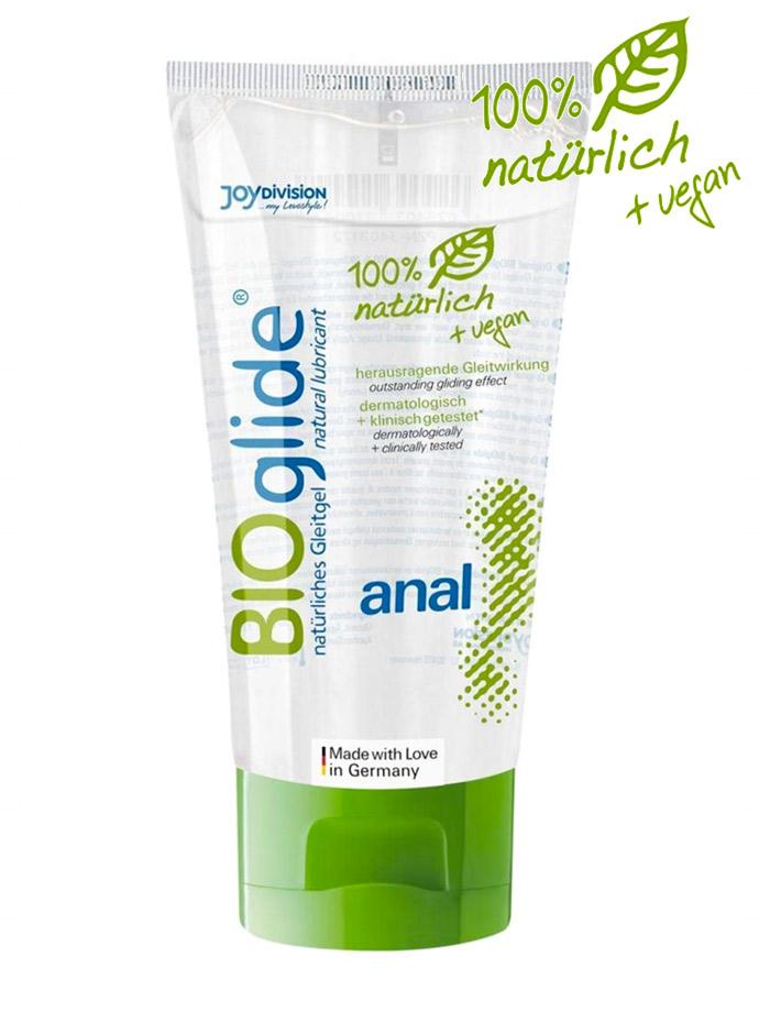 BIOglide Anal 100% natürliches und veganes Gleitgel 80 ml