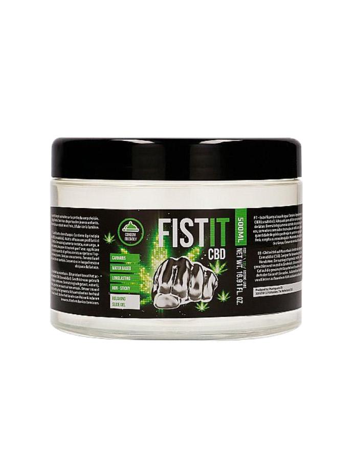 CBD FistIt - Gleitmittel auf Wasserbasis 500 ml
