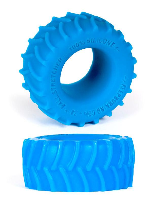 Burning Wheels 100% Silikon Cockring CK02 Blau