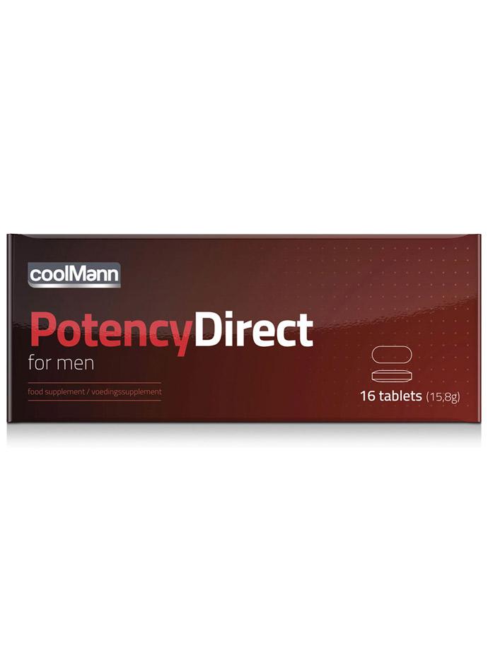 CoolMann Potency Direct - 16 Tabletten