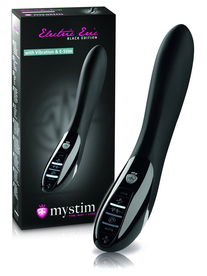 Mystim Electric Eric E-Stim Vibe - Black Edition