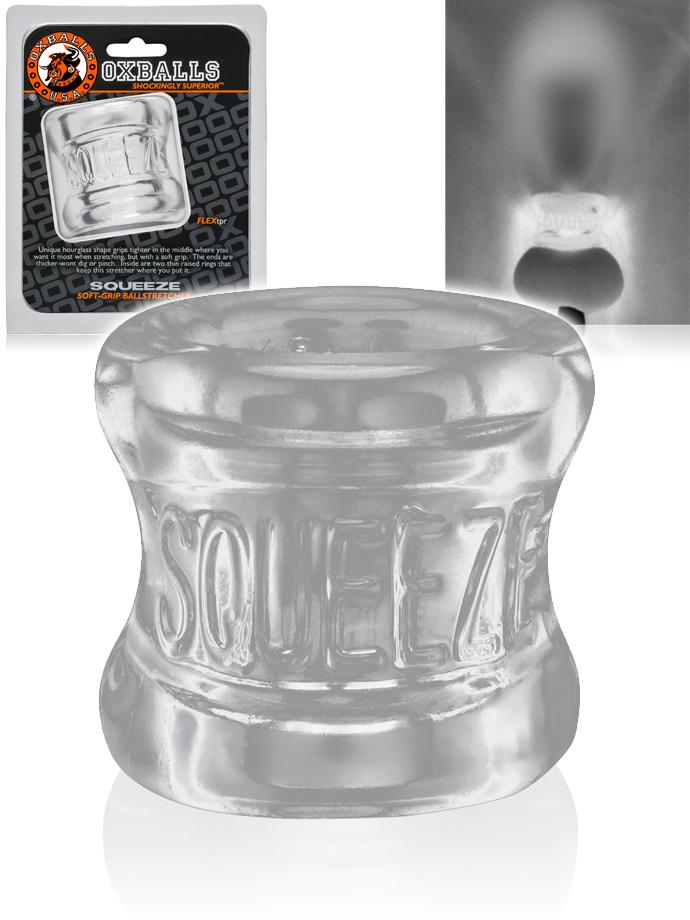 Squeeze Ballstretcher - Transparent