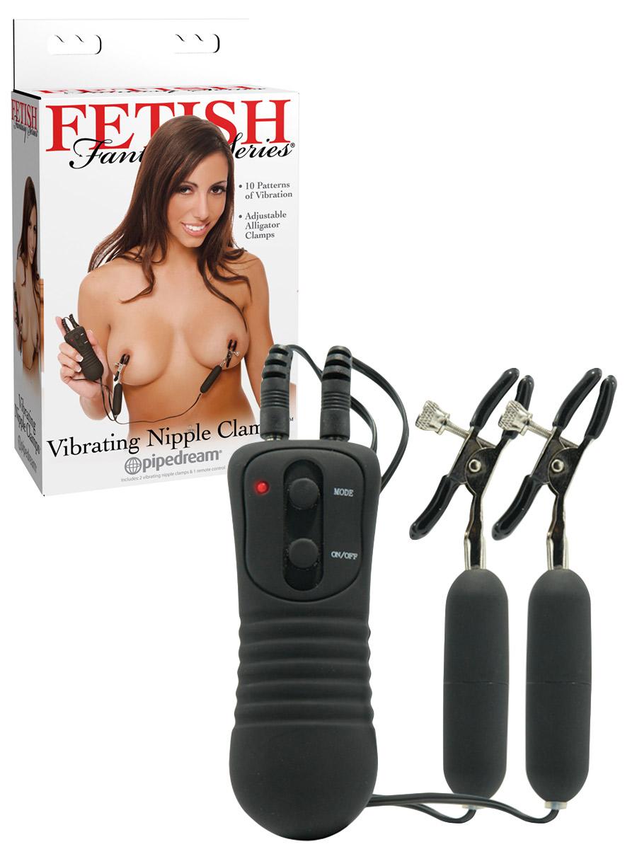Fetish Fantasy - Vibrating Nipple Clamps