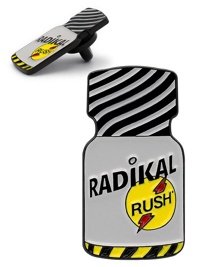 Radikal Rush Poppers Anstecker