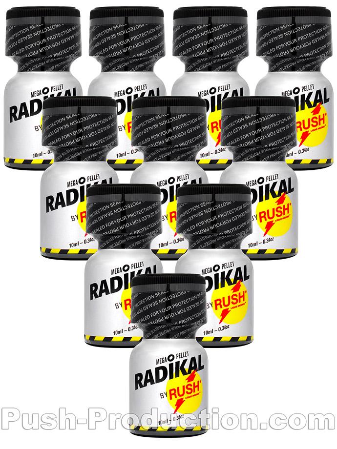10 x RADIKAL RUSH small - PACK