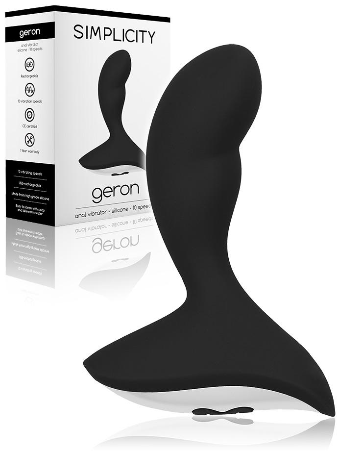 Geron - 10 Speed Anal Vibrator - Schwarz