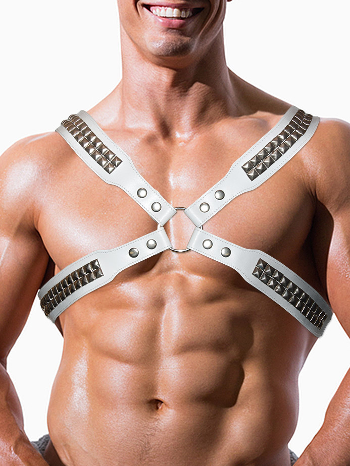White Leather Harness
