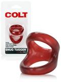 COLT Snug Tugger Doppel-Penisring Rot