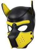 Pupplay Hundemaske - Schwarz/Gelb