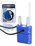 Push Xtreme Fetish - Double Inhaler with Magnetic Lock - Blau